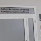 Oddział Neonatologii z Patologią Noworodka znajduje się na II i III piętrze.